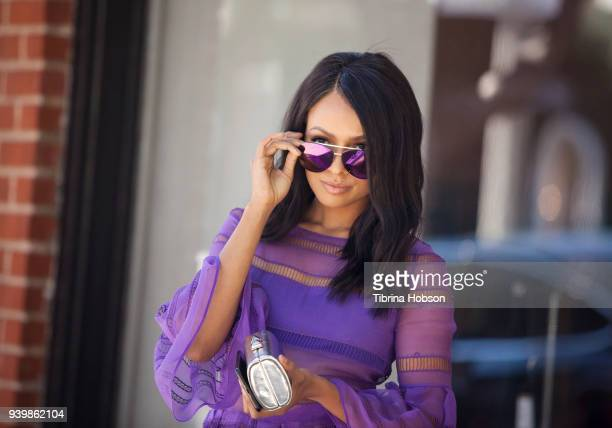 Kat Graham poses for a portrait on March 27 2018 in Los Angeles California