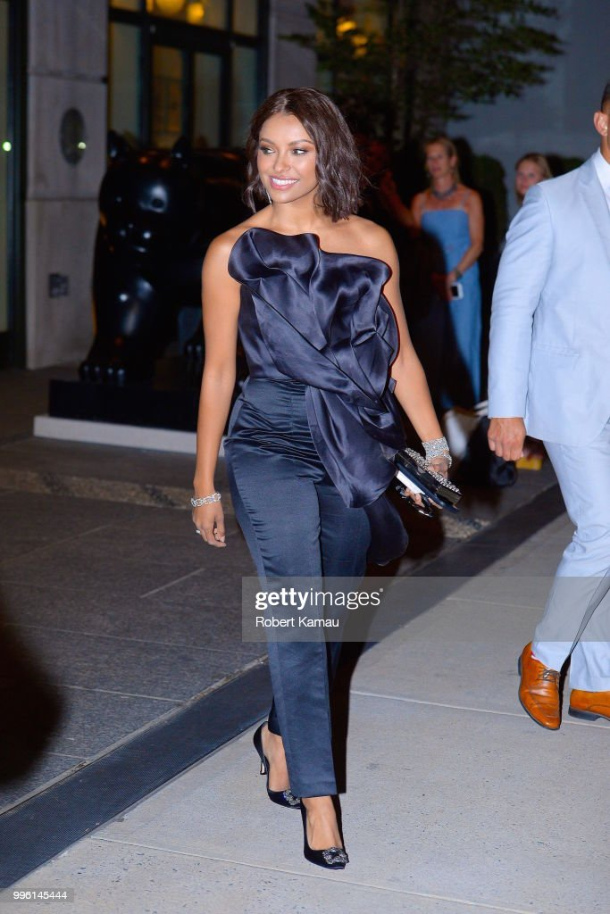Kat Graham seen out and about in Manhattan on July 10, 2018 in New York City.