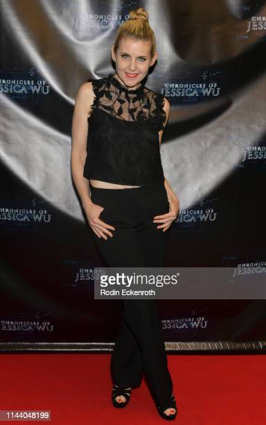 Kat Kolla attends the Chronicles of Jessica Wu Season 2 premiere at SAGAFTRA Foundation Screening Room on April 20 2019 in Los Angeles California