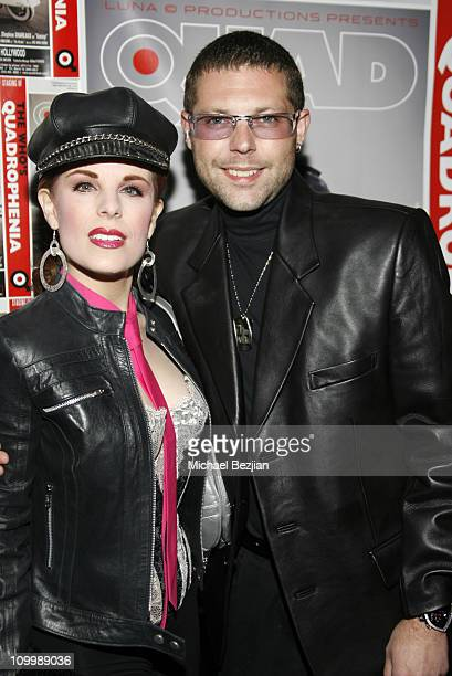 Kat Kramer and Alestar Digby during Quadrophenia Musical Theatre Performance at The Avalon in Hollywood California United States