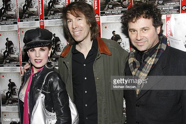 Kat Kramer and David Brighton and Harrison Held during Quadrophenia Musical Theatre Performance at The Avalon in Hollywood California United States