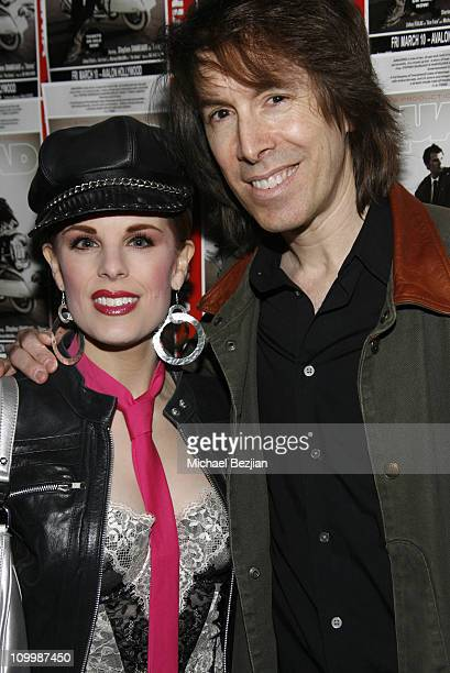 Kat Kramer and David Brighton during Quadrophenia Musical Theatre Performance at The Avalon in Hollywood California United States