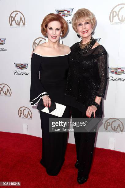 Kat Kramer and Karen Kramer attend the 29th Annual Producers Guild Awards at The Beverly Hilton Hotel on January 20 2018 in Beverly Hills California