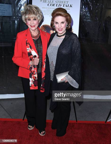 Kat Kramer and Karen Sharpe arrives at the Los Angeles Special Screening Of If Beale Street Could Talk at ArcLight Hollywood on December 4 2018 in...