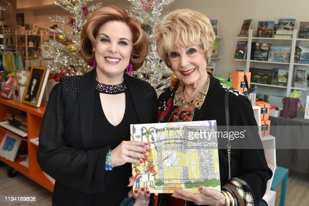 Kat Kramer and Karen Sharpe attend the MaddoxTomlin Book Signing At Just Fabulous Palm Springs at Just Fabulous on December 15 2019 in Palm Springs...