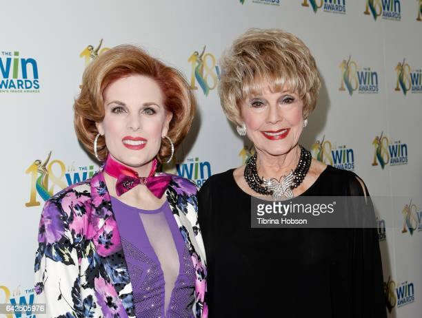 Kat Kramer and Karen Sharpe Kramer attend the 18th Annual Women's Image Awards at Skirball Cultural Center on February 17 2017 in Los Angeles...
