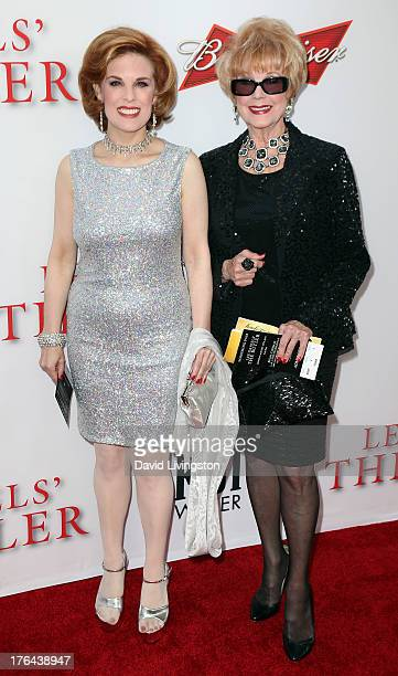 Kat Kramer and mother Karen Sharpe attend the premiere of the Weinstein Company's Lee Daniels' The Butler at Regal Cinemas LA Live on August 12 2013...