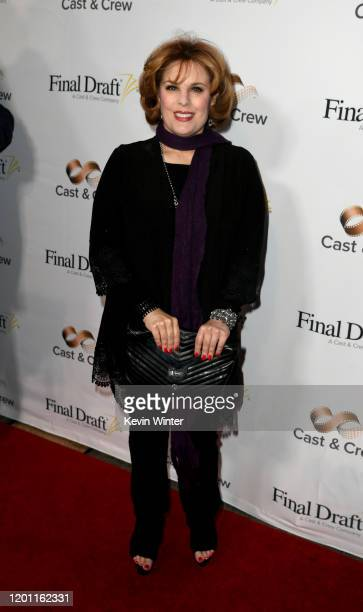 Kat Kramer arrives at the 15th Annual Final Draft Awards at Paramount Theatre on January 21 2020 in Hollywood California