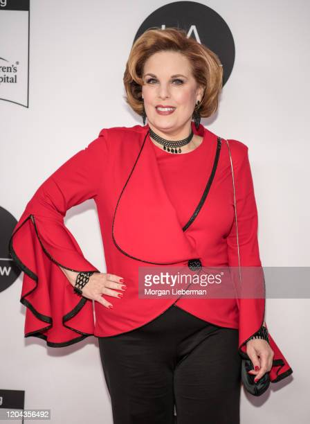 Kat Kramer arrives at the 2020 LA Art Show Opening Night at Los Angeles Convention Center on February 05 2020 in Los Angeles California