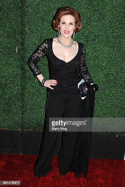 Kat Kramer arrives at the LA Industry Screening of Sony PIctures Classics' 'Truth' at the Samuel Goldwyn Theater on October 5 2015 in Beverly Hills...