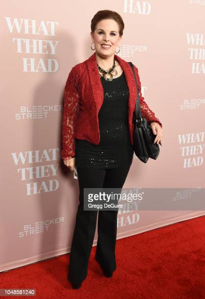 Kat Kramer arrives at the Los Angeles Special Screening Of What They Had at iPic Westwood on October 9 2018 in Westwood California