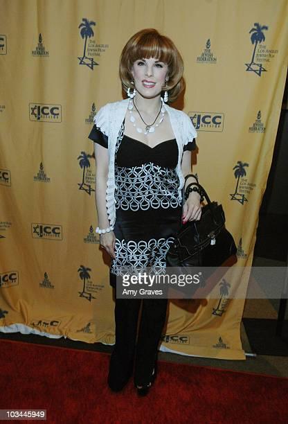 Kat Kramer at the 4th Annual LA Jewish Film Festival Opening Night Gala Event