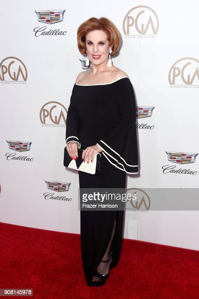 Kat Kramer attends the 29th Annual Producers Guild Awards at The Beverly Hilton Hotel on January 20 2018 in Beverly Hills California