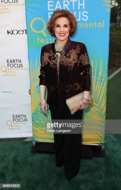 Kat Kramer attends the opening night of KCET Link TV's EARTH FOCUS Environmental Film Festival screening of Love Bananas An Elephant Story at Sony...