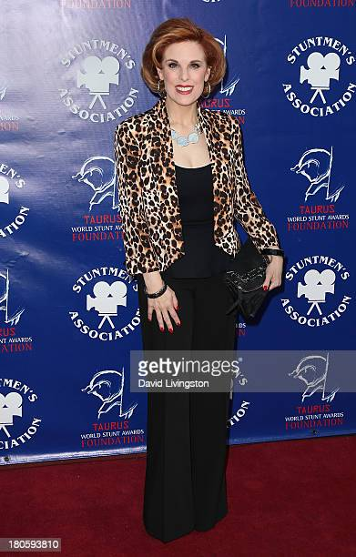Kat Kramer attends the Stuntmen's Association of Motion Pictures 52nd Annual Awards Dinner to benefit the Taurus World Stunt Awards Foundation at the...
