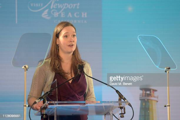 Kat Mason attends the Fifth annual Newport Beach Film Festival UK Honours at The Langham Hotel on February 07 2019 in London England