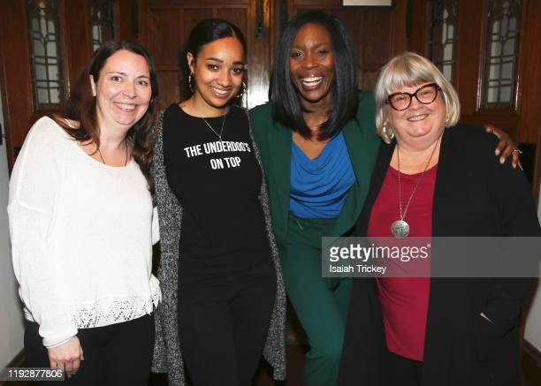 Kat McNichol Alicia K Harris Lanette WareBushfield and Martha Martin attend Listen And Learn at Kingston Road United Church on December 8 2019 in...