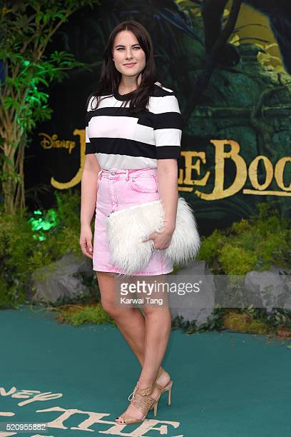 Kat Shoob arrives for the European premiere of 'The Jungle Book' at BFI IMAX on April 13 2016 in London England