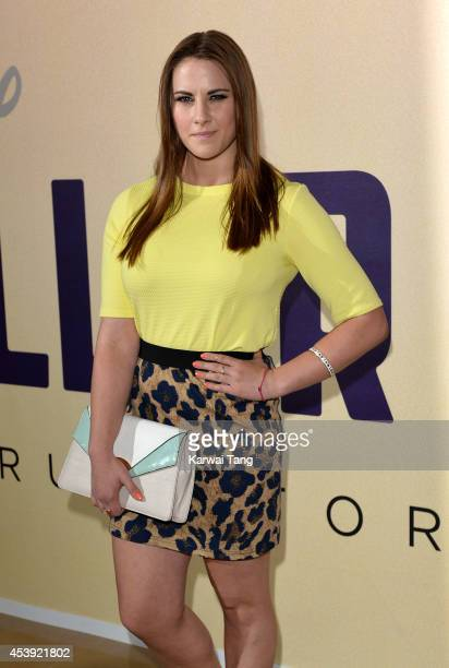 Kat Shoob attends a Gala screening of Million Dollar Arm at May Fair Hotel on August 21 2014 in London England