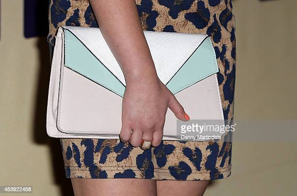 Kat Shoob attends a screening of Million Dollar Arm at May Fair Hotel on August 21 2014 in London England