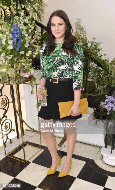 Kat Shoob attends Maison St Germain x House of Holland Opening Night in Mayfair on June 14 2018 in London England