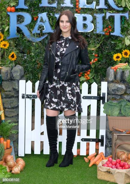 Kat Shoob attends 'Peter Rabbit' UK Gala Screening at Vue West End on March 10 2018 in London England