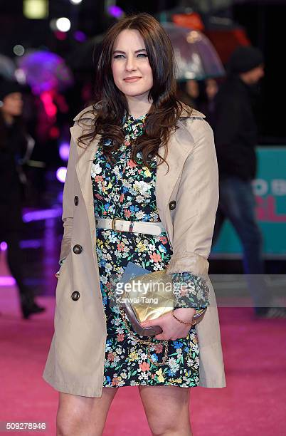 Kat Shoob attends the European Premiere of 'How To Be Single' at the Vue West End on February 9 2016 in London United Kingdom