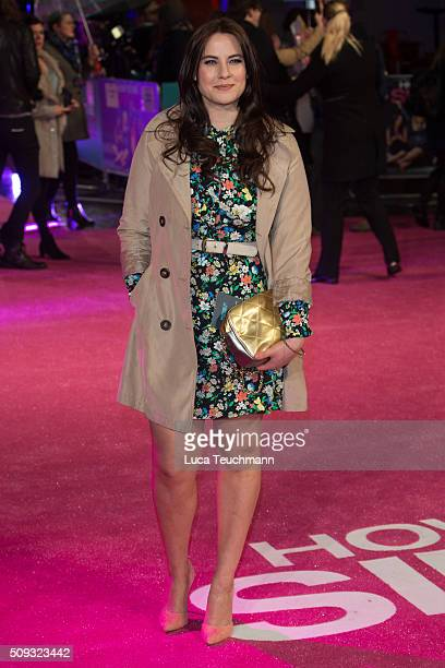Kat Shoob attends the European Premiere of 'How To Be Single' on February 9 2016 in London United Kingdom