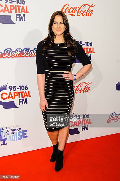 Kat Shoob attends the Jingle Bell Ball at The O2 Arena on December 6 2015 in London England