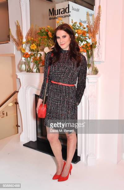 Kat Shoob attends the launch of Dr Murad's Brightest Innovation at Icetank on March 27 2018 in London England