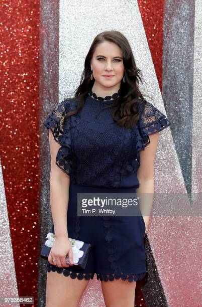Kat Shoob attends the 'Ocean's 8' UK Premiere held at Cineworld Leicester Square on June 13 2018 in London England