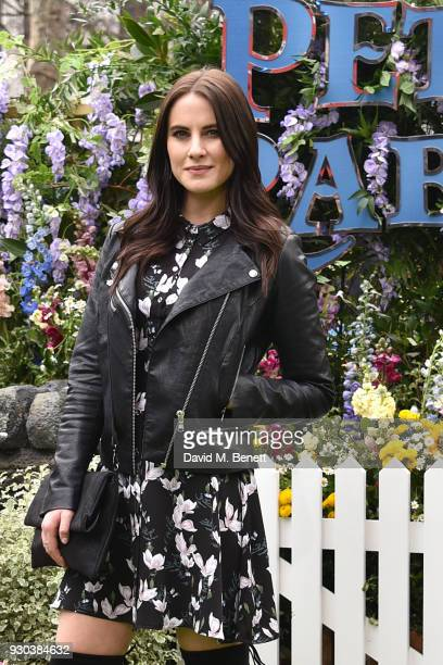 Kat Shoob attends the UK Gala Premiere of 'Peter Rabbit' at the Vue West End on March 11 2018 in London England