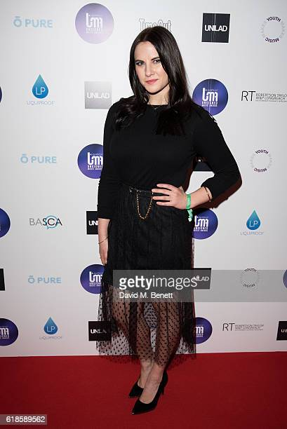 Kat Shoob attends the Unsigned Music Awards 2016 at The Troxy on October 27 2016 in London England