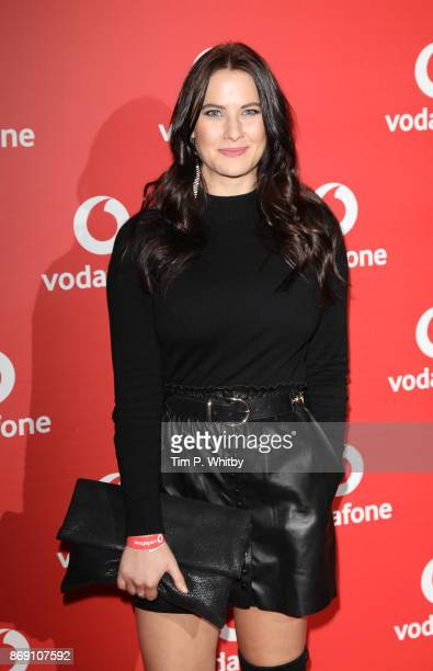 Kat Shoob attends the Vodafone Passes Launch held at The Bankside Vaults on November 1 2017 in London England