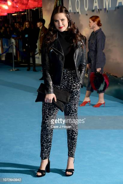 Kat Shoob attends the World Premiere of Aquaman at Cineworld Leicester Square on November 26 2018 in London England