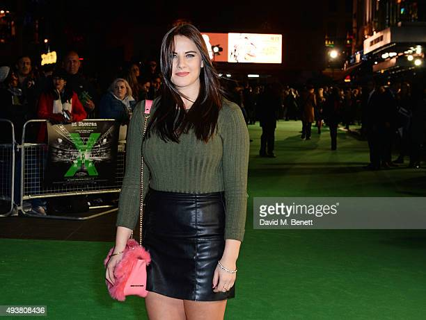 Kat Shoob attends the World Premiere of Ed Sheeran Jumpers For Goalposts at Odeon Leicester Square on October 22 2015 in London England