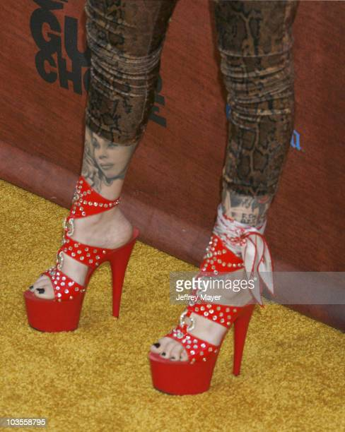 Kat Von D arrives at Spike TV's 2nd Annual Guys Choice Awards on May 29, 2008 at Sony Studios in Los Angeles, California.