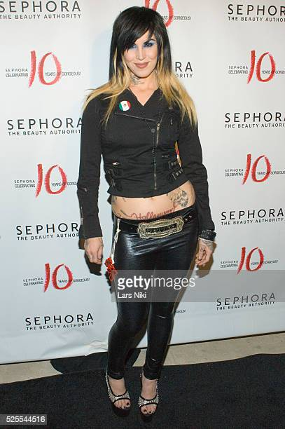 Kat Von D at the Sephora 10 year anniversary celebration at the Angel Orensanz Foundation in New York City