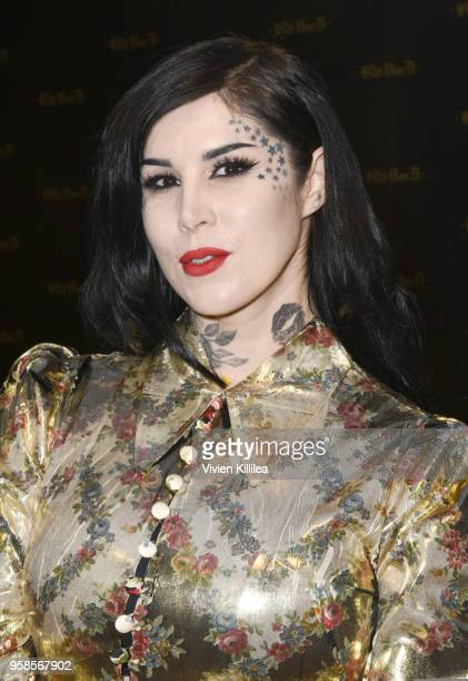 Kat Von D attends Kat Von D Beauty 10th Anniversary Party at Vibiana Cathedral on May 10 2018 in Los Angeles California