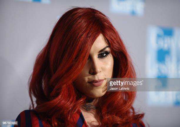 Kat Von D Attends The La Gay Lesbian Centers An Evening With Women At