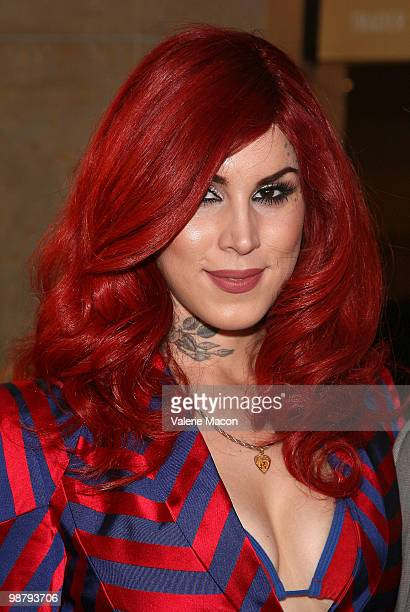 Kat Von D Attends The La Gay Lesbian Centers An Evening With Women On