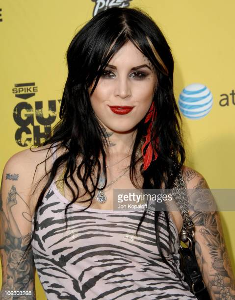 Kat Von D during First Annual Spike TV's Guys Choice - Arrivals at Radford Studios in Studio City, California, United States.