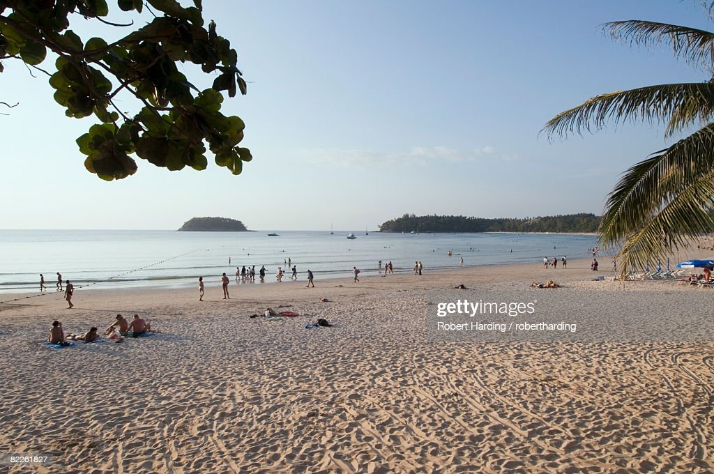 Kata beach, Phuket, Thailand, Southeast Asia, Asia : Stock Photo