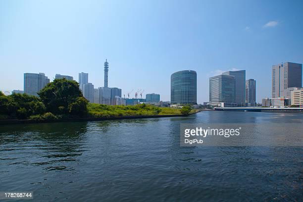 Katabira River in Yokohama City