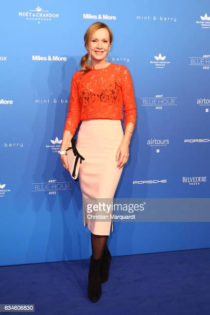Katahrina Flint attends the Blue Hour Reception hosted by ARD during the 67th Berlinale International Film Festival Berlin on February 10 2017 in...