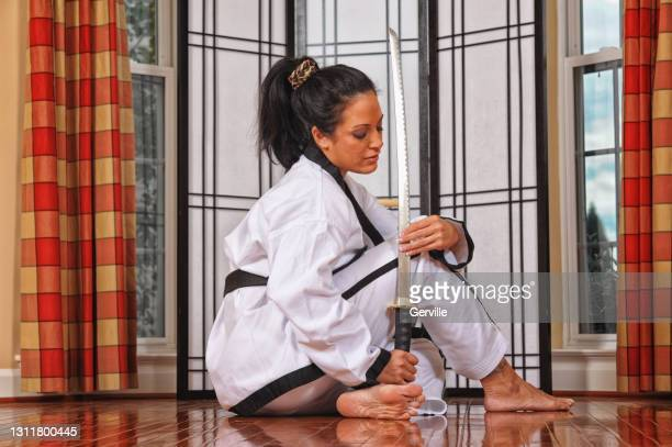 katana check - gerville stock pictures, royalty-free photos & images