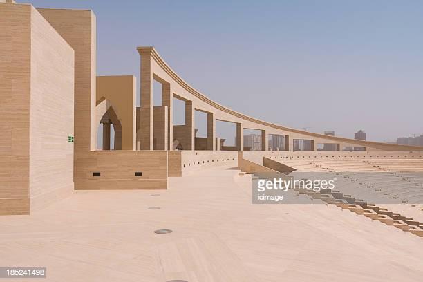 anfiteatro katara, doha, qatar - qatar fotografías e imágenes de stock