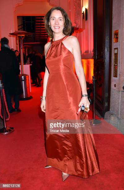 Katarina Barley attends the Ein Herz Fuer Kinder Gala 2017 After Show Party at Borchardt Restaurant on December 9 2017 in Berlin Germany