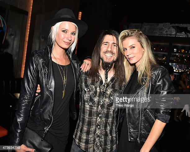 Katarina Benzova Ron Bumblefoot Thal and Shannon Rusbuldt attend Animals Asia Let A Bear Shit In The Woods Campaign at the Electric Room at Dream...