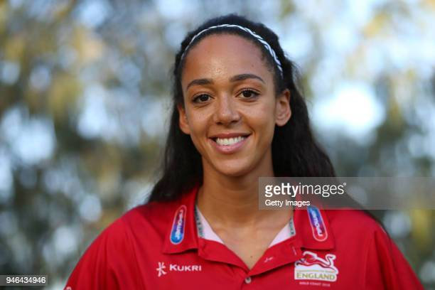 Katarina JohnsonThompson poses on day 11 of the Gold Coast 2018 Commonwealth Games at Gold Coast Convention and Exhibition Centre on April 15 2018 on...